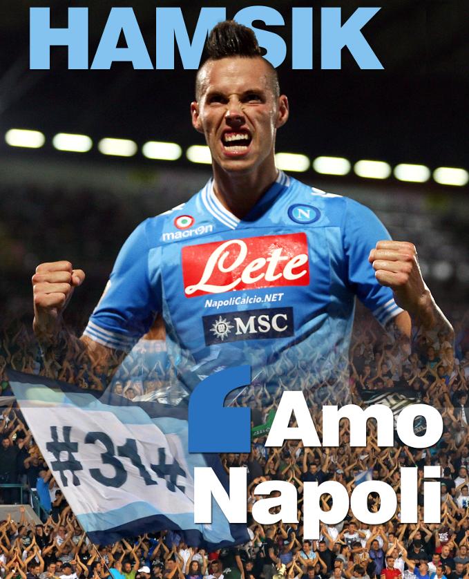 Hamsik da la carica contro Inter