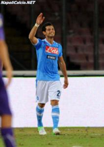 Napoli Dzemaili infortunato, niente PSV