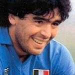 Maradona ha il record di reti al Napoli, Cavani vuole batterlo