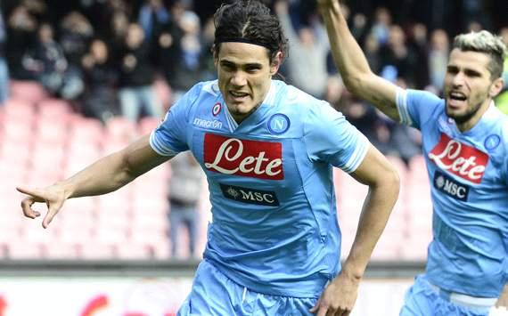 Napoli, il ritorno al goal di Cavani e Pandev
