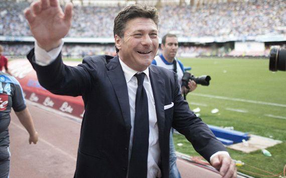 Mazzarri addio al Napoli