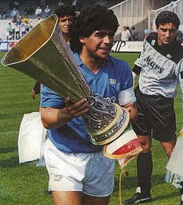 Coppa UEFA 1988-1989, Maradona