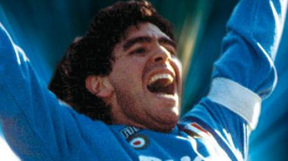 Diego Maradona Scudetto Coppa Italia