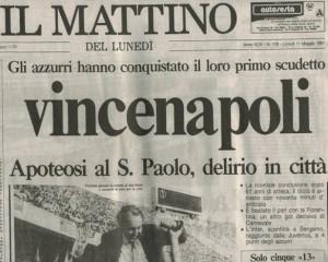 Il Mattino 11 maggio 1987