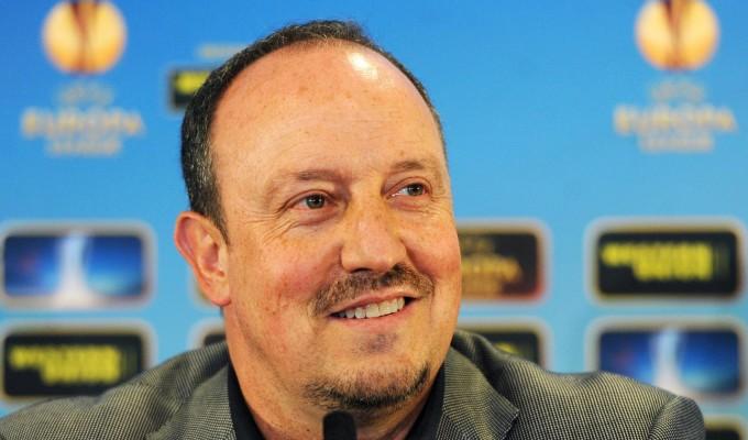 Benitez, prima conferenza stampa europea