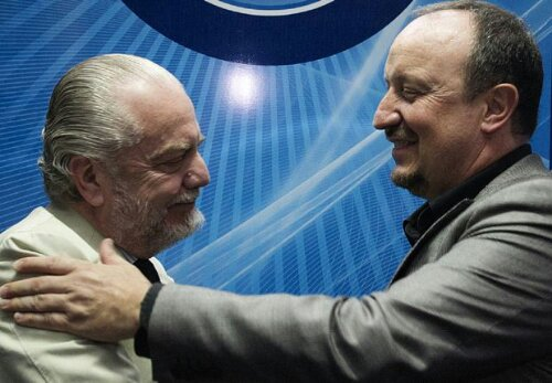 Benitez e De Laurentiis