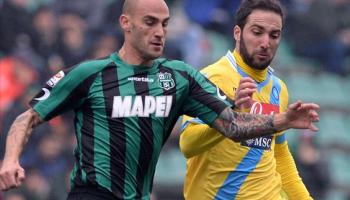 Cannavaro e Higuain avversari in campo