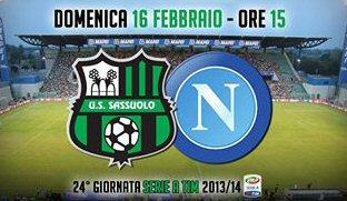 Sassuolo-Napoli 2014