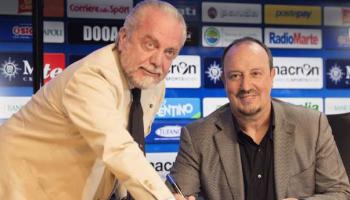 Benitez firma col Napoli