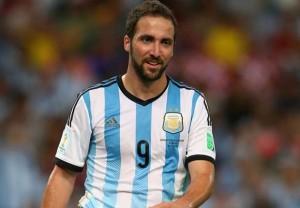 Gonzalo Higuain ai Mondiali in Brasile