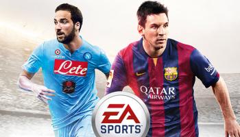 Fifa 15, Higuain e Messi sulla cover italiana