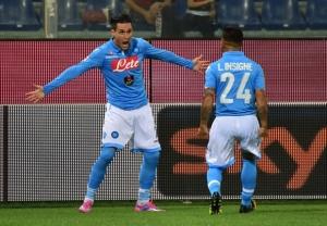 Callejon decide la partita col Sassuolo
