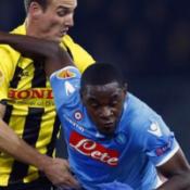 Zapata inconcludente in Young Boys-Napoli