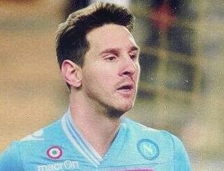 Messi al Napoli