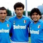 Giordano Careca e Maradona