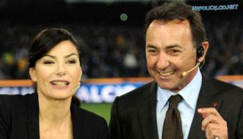 Ilaria D'Amico e Massimo Mauro