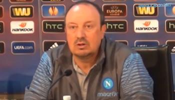 Benitez conferenza stampa tra coppa italia e futuro al for Intervista benitez