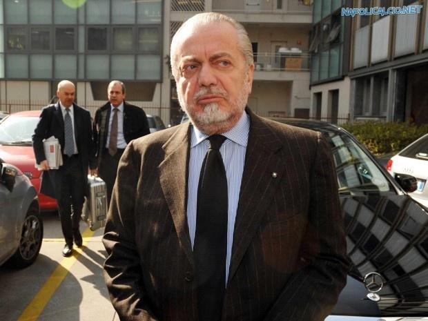 Aurelio De Laurentiis annulla il ritiro del Napoli