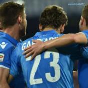 INapoli-Sampdoria 4-2, lezioni di calcio al San Paolo