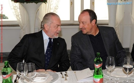 Benitez e De Laurentiis in love
