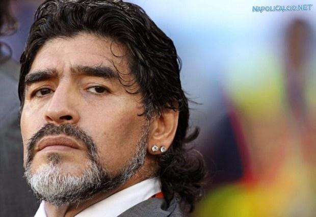 Diego Armando Maradona, Platini a casa