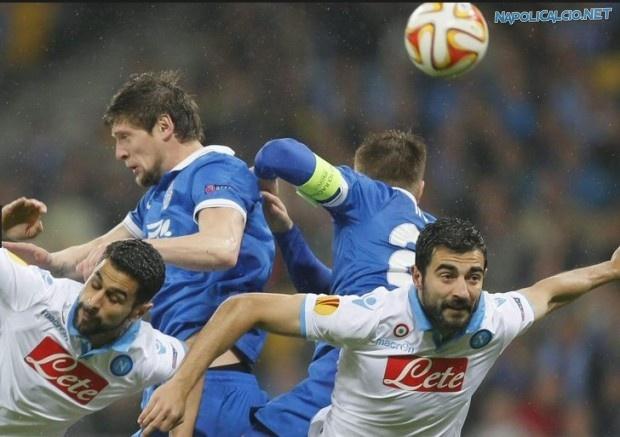 Dnipro-Napoli 1-0, Seleznyov fa fuori gli azzurri