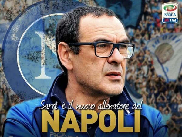 Sarri ufficiale al Napoli