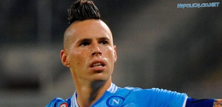 Hamsik il capitano del Napoli