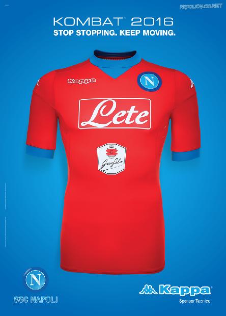 La terza maglia del Napoli