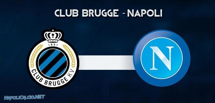 Brugge-Napoli: Sarri fa tanto turnover, Callejon gioca da 'falso nueve'