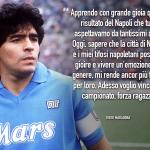 Maradona vuole lo scudetto per Napoli