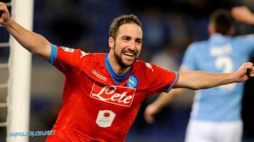 Lazio-Napoli 0-2, il godimento di Higuain