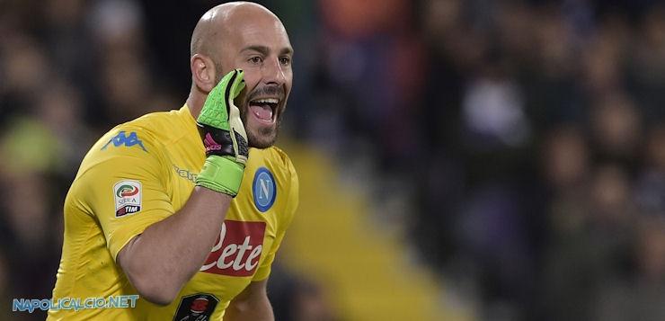 """Chievo-Napoli 1-3, orgoglio Reina: """"Lasciamo sempre tutto in campo"""""""