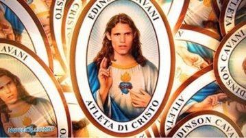Cavani, atleta di Cristo