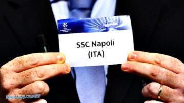 Sorteggio Champions SSC Napoli