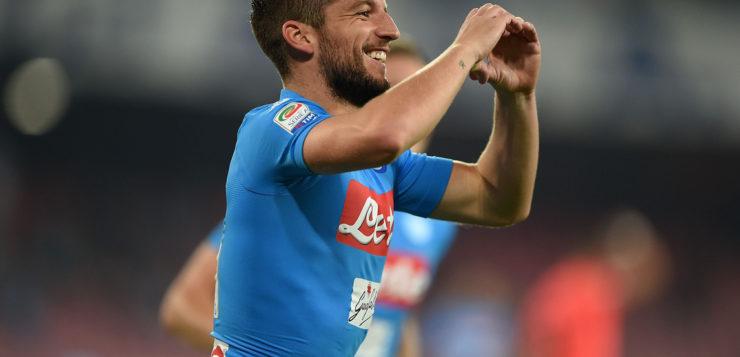 """Napoli, Mertens: """"felice di giocare a Napoli"""""""