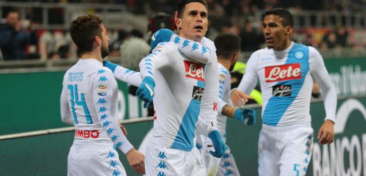 """Milan-Napoli 1-2, Callejon: """"Grande mentalità, vittoria meritata"""""""