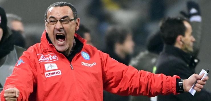 """Milan-Napoli 1-2, Sarri: """"Sappiamo anche vincere soffrendo"""""""