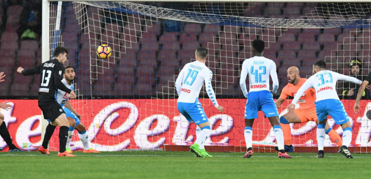 Napoli-Atalanta 0-2: azzurri distratti battuti da una super dea