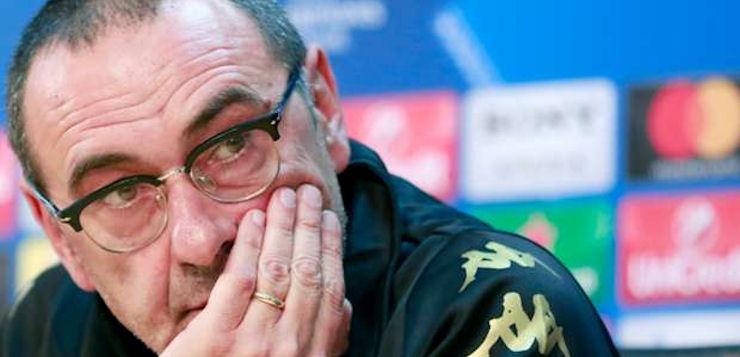 """Roma-Napoli, lotta di rigori per Sarri: """"Loro 8 in più di noi, è illogico"""""""