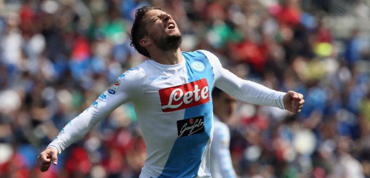 Sassuolo-Napoli 2-2: gli azzurri mancano l'aggancio al 2° posto
