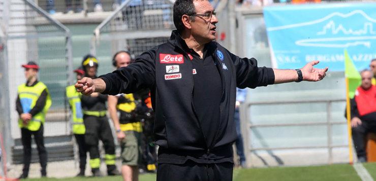 """Sassuolo-Napoli, Sarri su Damato: """"Se è scarso va fermato"""""""