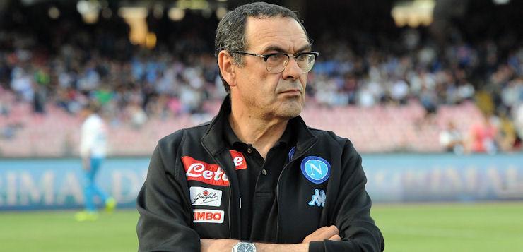 """Napoli-Fiorentina 4-1, Sarri: """"Dopo una stagione straordinaria sogniamo lo scudetto!"""""""