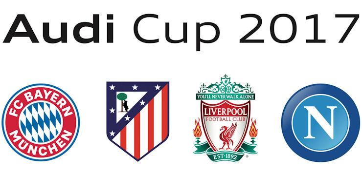 Ufficiale, Napoli all'Audi Cup con Atletico, Bayern e Liverpool