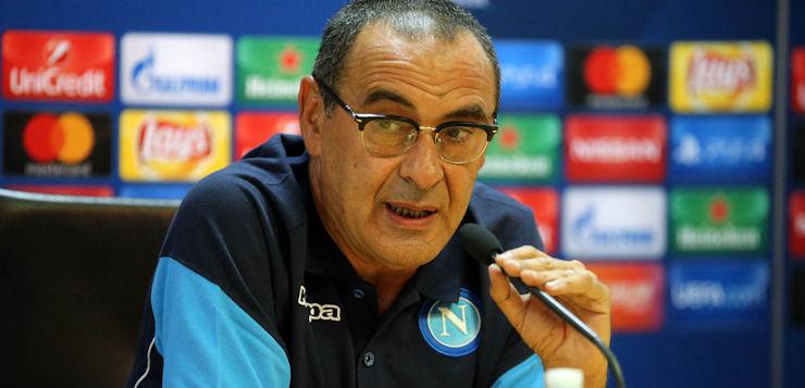 """Napoli-Nizza 2-0, Sarri: """"Fatto il meglio che potevamo fare"""""""