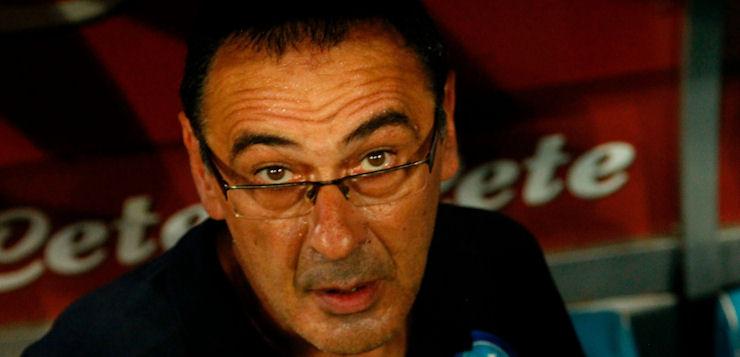 """Shakhtar-Napoli 2-1, Sarri: """"In Europa non recuperi se sbagli l'approccio alla partita"""""""