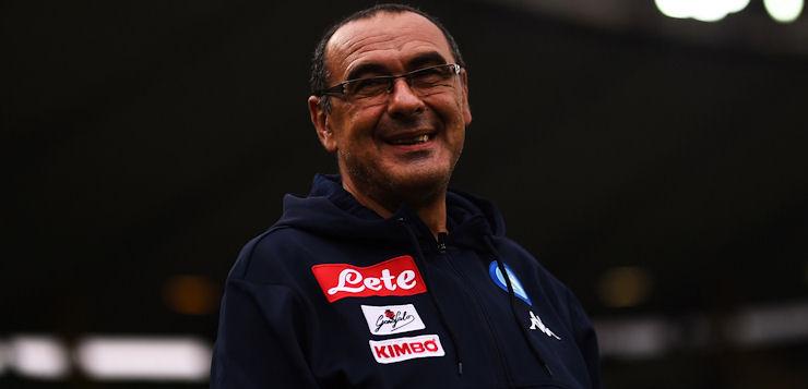 """Napoli-Milan 2-1, Sarri: """"Creato tantissimo e rischiato poco"""""""