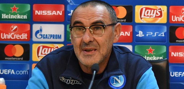"""Napoli-Shakhtar, Sarri: """"Voglio una squadra feroce"""""""