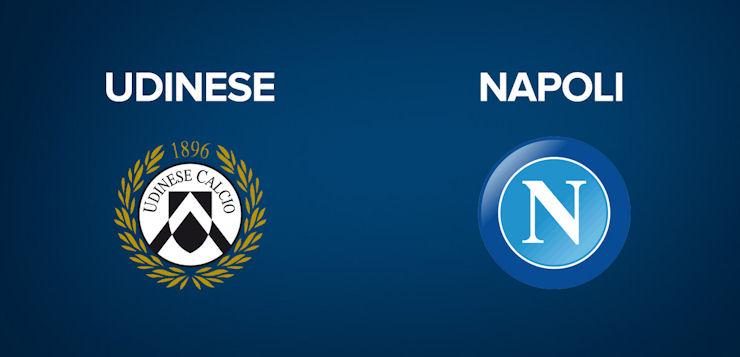 Udinese-Napoli: dove vedere la partita in tv e diretta streaming