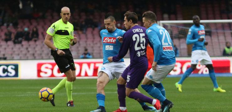 Napoli-Fiorentina 0-0: azzurri mentalmente scarichi falliscono il controsorpasso